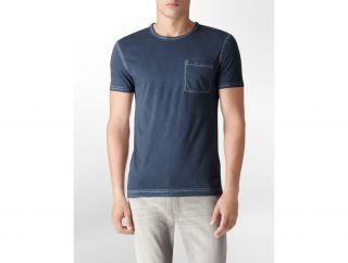 Calvin Klein Mens Body Slim Fit Water Stain T Shirt