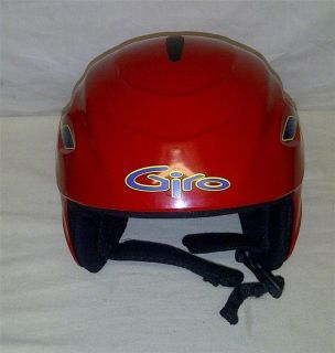 GIRO Pitch Kids Youth Junior Red Snowboard Ski Helmet Size Small XS S