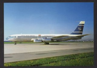 Airplane Boeing B 707 Syrian Arab Airlines Airplanes Aircrafts