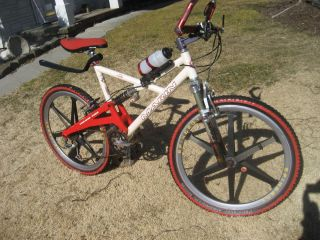 1998 Marin B 17 FRS 24 SPD Mountain Bike Spinergy Wheels