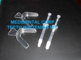 Whitening Carbamide Gel Bleaching Professional Dental Kit Mouth Trays