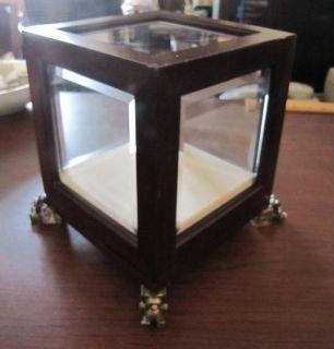 Bombay Furniture Baby Beveled Glass Display Box