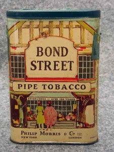 VINTAGE BIG BEN & BOND STREET TOBACCO TIN CANS FREE SH.