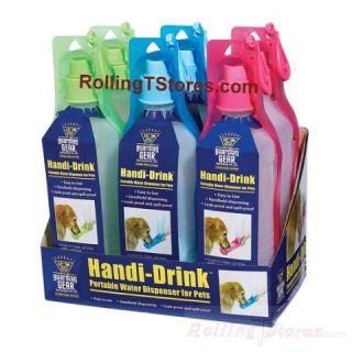 Dog Portable Water Bottle Dispenser Handi Drink Travel