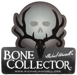 Bone Collector Shadow Skull Window Decal Truck Auto