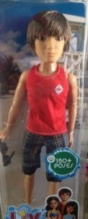 Liv doll Jake making waves beach outfit red tank top over 150 poses
