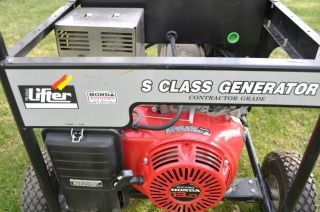 7500 Watt Generator Honda Engine Low Hours