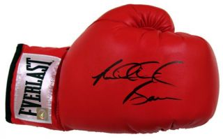 Riddick Big Daddy Bowe Signed Everlast Boxing Glove ASI Proof