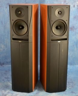Bowers Wilkins DM305 B W Floor Standing Speakers