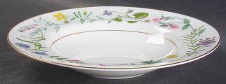 Royal Worcester Arcadia Large Rimmed Soup Bowl 1351907