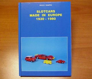 Scalextric Policar Minidream Unicar VIP Slot Car Book Libro