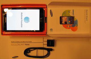Samsung Galaxy Note LTE SGH I717   16GB   Carbon blue (AT&T)