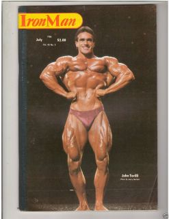 Bodybuilding Fitness Musclemag John Terilli Boyer COE 7 84