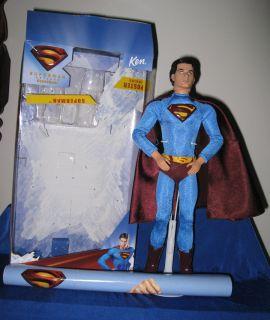 Mattel Superman Returns Brandon Routh Barbie Ken Doll Mint with Box