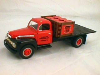 PHILLIPS PIPELINE #1 BORGER TX HALF RACK STAKE TRUCK 1951 FORD F 6