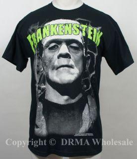 Authentic Boris Karloff Frankenstein Big Frank T Shirt s M L XL XXL