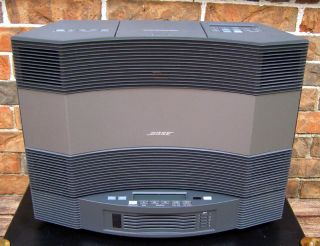 Bose acoustic wave music system II with multi disc and QC2 Headphones