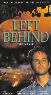 NEW Sealed Christian End Times VHS VIDEO Left Behind The Movie (Kirk