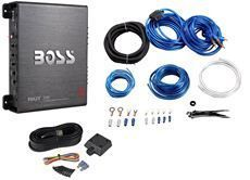 Boss R3002 600 Watt 2 Channel Car Power Amplifier Remote Level Control