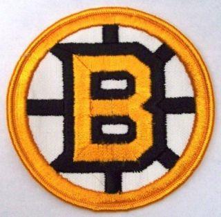1970s Boston Bruins NHL Hockey 4 Home Jersey Patch