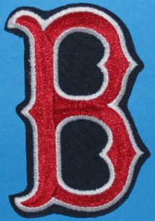 Boston Red Sox Team Logo Shoulder Patch MLB Baseball