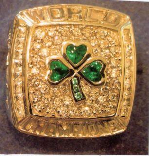 2008 Boston Celtics NBA Championship Replica 925 Ring