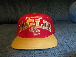 Vintage Starter Boston College Eagles Snapback Hat Cap