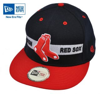New Era Adjustable Boston Red Sox MLB Baseball Cap