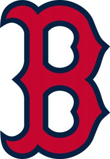 Boston Red Sox B Logo Window Wall Sticker Car Decal