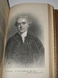 Leather Set Boswells Life of Samuel Johnson Antique