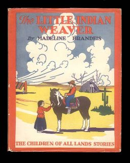 all Lands Series Book Navajos Little Indian Weaver Madeline Brandeis