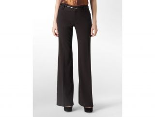 Calvin Klein Womens Luxe Stretch Solid Bowery Pants