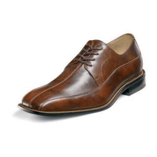 Stacy Adams Brenton Mens Brown Leather Shoes 24653 200