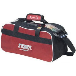 New Storm Rally Red Black 2 Bowling Ball Bag Double Tote