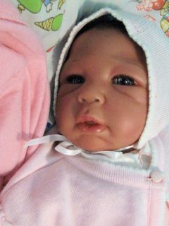 Reborn Lifelike Lenora Was Brea by L Miller Sands Bi Racial not A Kit