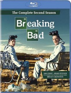 Breaking Bad The Complete Second Season Blu ray Disc 2010 3 Disc Set
