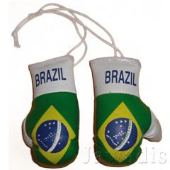 Mini Boxing Gloves of Country Flags Other Flags for Carry Decor Show