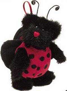 Boyd Iddy Biddy Ladybug Plush Ornament TEDDY BEAR IN DISGUISE SO