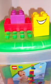 Duplo Quatro Bucket Buildingtable Bricks Top Plate Set 5357