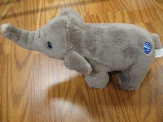 """10"""" Plush Bean Bag Elephant Greatest Show on Earth"""