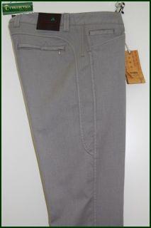 jeans moda uomo sportivo slim fit cotone stretch Braddock Grigio TG 50