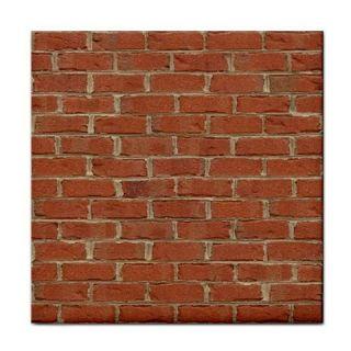Red Brick Wall Ceramic Tile