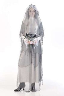 Ghost Bride Womens Adult Halloween Zombie Costume L