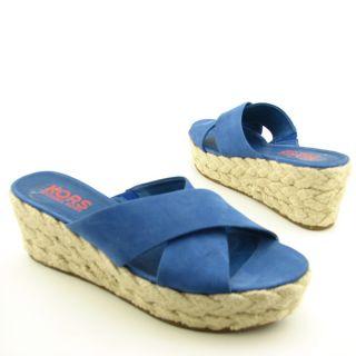 MICHAEL KORS Brielle Blue Sandals Shoes Womens 10