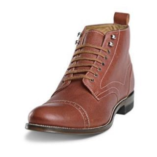 Stacy Adams Madison Brockton Dress Boots Cognac 00035 221