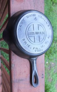 Griswold 4 Block Lettered Cast Iron Skillet Heat Ring