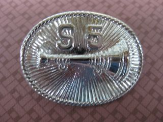 FDNY Squad 5 Bronx Lieutenant Hat Badge Fire Department Firefighting