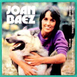 Joan Baez Imagine 1973 Folk Pop EP Only Cover Brazil