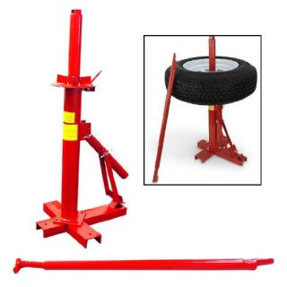Portable Hand Tire Changer Bead Breaker Tool Mounting Home Shop Auto