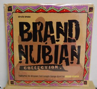 STRICTLY BREAKS BRAND NUBIAN COLLECTION 2LP SEALED RARE 28 ORIGINAL